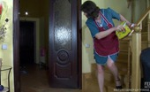 Matures and Pantyhose Emilia & Adam Uniformed Mature Housemaid Bent Down And Fucked Right In Her Natural Hose