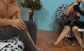 Matures and Pantyhose Viola & David Nylon-Addicted Mom Savoring The Feeling Of Sheer Hose Before Hard Fucking