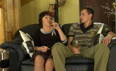 Matures and Pantyhose Emilia & Charles Pantyhosed Mommy Eagerly Exploring What Her Neighbor Has In His Trousers