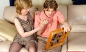 Matures and Pantyhose Emilia & Jerry Lascivious Milf In Barely Black Pantyhose Getting Screwed Right On The Sofa