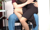 Matures and Pantyhose Ramona & Adam Lusty Mom Cowgirl Riding On Meaty Pole Without Taking Off Her Nylon Tights