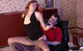 Matures and Pantyhose Helena & Mike Mature Chick Getting Her Beaver Ploughed With Her Pantyhosed Knees Upwards