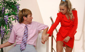 Matures and Pantyhose Susanna & Rolf Smashing Mature Gal In Slight Sheen Pantyhose Scamming To Get A Hard Pecker
