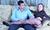 Matures and Pantyhose Leila & Lucas Long-Haired Mom In Striped Pantyhose Takes A Serious Amount Of Wild Dicking