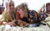 Licksonic Nora & Susanna Freaky Lezzie Eating Yummy Pussy Before Shoving Her Strap-On Deep Into It