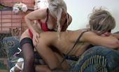 Licksonic 461842 Nora & Susanna Blindfold Lesbian Babe On Leash Getting Her Meaty Muff Thrusted With Tongue
