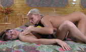 Licksonic Dolly & Mireille Awesome Lesbian Babe Aching To Put To Work Her Strap-On In Lez Interaction