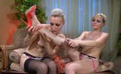 Licksonic Betty & Judith Naked Babes Going From Sensual Mouth Kisses To Leg Worshipping And Toy Play