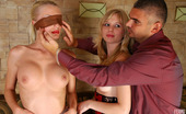 Licksonic Hilda & Paulina Blindfolded Girl Ready For New Sensations With A Strap-On Armed Lesbo Lover