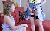 Licksonic Alina & Rita Outrageously Hot Babe Reveals Her Strap-On Craving For Some Lesbian Games