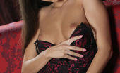Met Art 462851 Met Art Presenting Lia Taylor Lia Taylor Looks Seductive And Enticing In A Maroon Lingerie With Black Lace Details That Accentuates Her Curvy Body Lia Taylor Dave Lee Presenting Lia Taylor