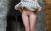Met Art Met Art Derposa A Charming Daisy Lifts The Hem Of Her Polka-Dotted Skirt, Showing Off Her Smooth Legs, Cute Round Butt, And Pink Snatch. Daisy Rylsky Derposa