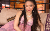 Anilos 464818 Anilos Aya May Hot Anilos Mom Wears A Pink Nightie And See Through Panties