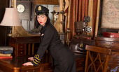 Anilos Anilos Crystall Anne Seductive Flight Attendant Shows Whats Under Her Uniform
