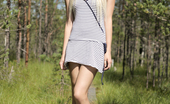 Nubiles.net Nubiles.net Olivia Devine Gorgeous Blonde Strips For Her Man While Hiking Through The Woods