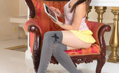 Nubiles.net Nubiles.net Amara Peek Up The Skirt Of This Hot Coed As She Takes Selfies