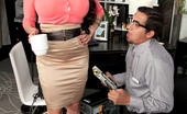 Scoreland Scoreland Amy Anderssen Hittin The Mega-Boobed Office Hottie