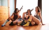 Evil Angel 466328 Evil Angel Dana DeArmond & Sarah Shevon & Skin Diamond & Gabriella Paltrova