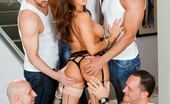 Evil Angel Evil Angel Francesca Le & Alec Knight & Marco Banderas & Will Powers & Chris Strokes & Barry Scott