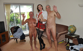 Lara's Playground Lara Latex A Crazy Horny Lady Banged By Two Stiff Seniors Hardcore Lara's Playground