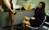 Nylon Fetish Videos Office Nylon Party A Pair Of Luscious Ladies Feel Each Other Up In The Office Aroused By Nylon Nylon Fetish Videos