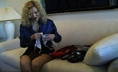Nylon Fetish Videos Never Too Many A Lusty Blonde Cant Decide Between Her Sexy Shoes Nylon Fetish Videos