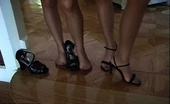 Nylon Fetish Videos Cant Wait To Play A Pair Of Sexy Ladies Parade Around In Their Stcking Feet Nylon Fetish Videos