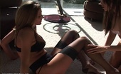 Nylon Fetish Videos Hot In The Sun A Pair Of Feisty Nylon Stocking Vixens Have A Sexual Romp In The Smoke And Sun Nylon Fetish Videos
