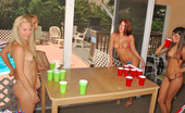 Party All-Star Beer Pong With Brooke, Misty, Rachel, And Avery Party All-Star