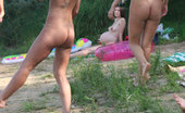 Nude Beach Dreams There�S A Beach Party Going On While These Two People Fuck In The Middle Of It Nude Beach Dreams