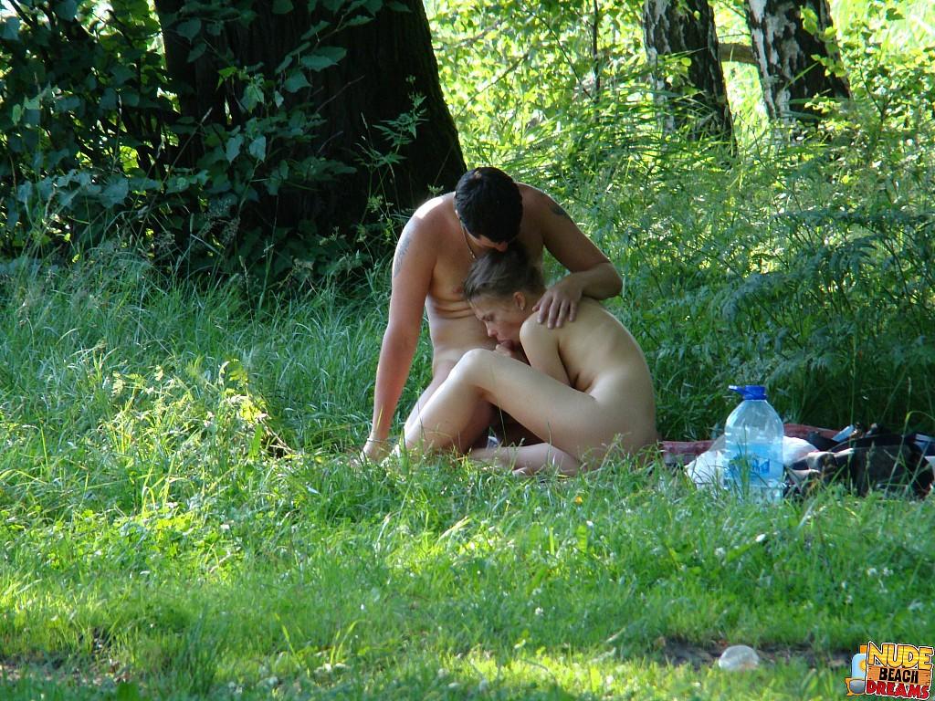 nude beach lover