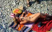Nude Beach Dreams Hairy Pussy MILF Sunbathing At The Beach Nude Beach Dreams