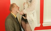 Nylon Angie Dirty Angie Strap On Angie Makes Her Guy Take It Nylon Angie