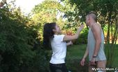 My Wife's Mom 470276 He Bangs Mature Pussy In Backyard She Gets Worked Up Thinking About Him Inside Her And He Wants To Fuck The Mature Slut Hard My Wife's Mom