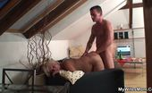 My Wife's Mom Filling The Mature Pussy Deeply Her Sensual And Sexy Mature Snatch Is Pumped Full Of His Cock And She Is Beautiful My Wife's Mom