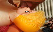My Wife's Mom Blonde Mommy Pounded Nicely A Blow-Up Doll Can'T Compare To The Warm, Wet Hole Of This Pretty Mom-In-Law. My Wife's Mom