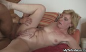 My Wife's Mom Raunchy Old Bitch Fucks Stud The Soft, Dripping Cunt Of An Aging Beauty Is Taken Hard By A Handsome Hunk. My Wife's Mom