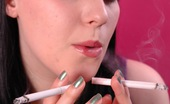 Ms Inhale 470439 Smoking Two Menthols At Once Naughty Smoking Fetish Teen Exposes Her Tits While She Smokes Two Cigarettes At Once Ms Inhale