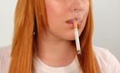 Ms Inhale Naughty Cigarette Smoking Teen Slutty Teen MsInhale Smoking A Cigarette Before Practice Ms Inhale