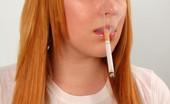 Ms Inhale Naughty Cigarette Smoking Teen Slutty Teen MsInhale Smoking A Cigarette Before Practice Ms Inhale
