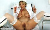 Naughty Head Nurse Vanda Midle Aged Nurse Vanda Gaping Her Elder Puss Wide Naughty Head Nurse