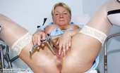 Naughty Head Nurse Radka Radka Older Kinky Nurse Beaver Masturbation At Gyno Clinic With Gyn Mirror And Plastic Dong Naughty Head Nurse