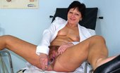Naughty Head Nurse Eva Eva Aged Curious Nurse Beaver Sex Toy Masturbation On Gynochair Naughty Head Nurse