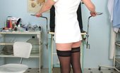 Naughty Head Nurse 470858 Agnesa Lousy Elder Nurse Agnesa Rubbing Pussy With Gyno Instrument On Gyno Chair Naughty Head Nurse