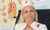 Naughty Head Nurse Vera Vera Aged Nurse Minge Gyn Instrument Opening Naughty Head Nurse