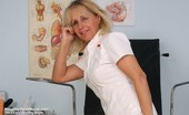Naughty Head Nurse Petruse Senior Nurse Petruse Stretching Her Milf Cunt Wide Naughty Head Nurse