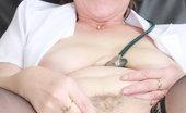 Naughty Head Nurse Slavomira Slavomira The Untidy Wife Caretaker Examines Her Vag Plus A Pussy-Expander Naughty Head Nurse