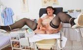Naughty Head Nurse Marsa Marsa The Orgasmic Medic Fucks Her Puss Plus A Plastic Medical-Instrument Naughty Head Nurse
