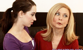 Club Sapphic Nina Hartley & Mina Meow Lesbians Nina Hartley And Mina Meow Begin Playing With Each Others Hot Bodies In This Video Clip Club Sapphic