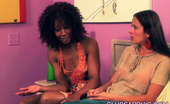 Club Sapphic 471590 Misty Stone & Elexis Monroe Elexis Monroe And Misty Stone Have Passionate Make-Up Sex Club Sapphic